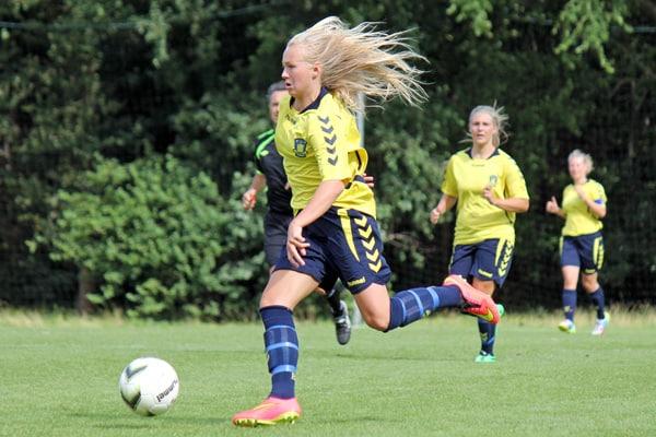 det danske landshold score piger