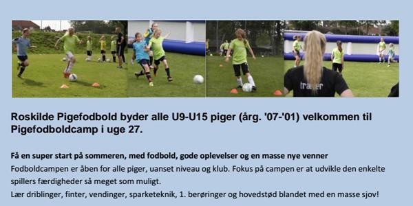 piger fodbold kun for piger