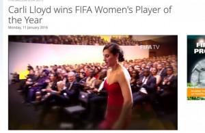 Carli Lloyd FIFA