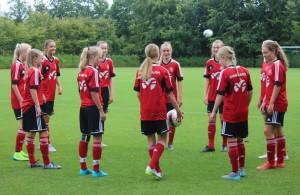U16 Training august 2015