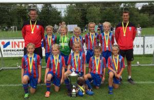 NFC U12 Kronborg Cup vinder 2016