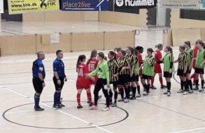 Futsal Kvindeserie Øst mellem Skjold Birkerød og BSF