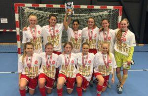 BSF U18 Piger til Final Indoor 2017