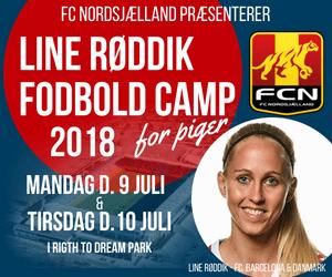 LINE RØDDIK FODBOLD CAMP SOMMER 2018