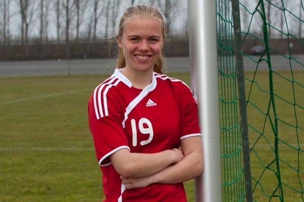 Emilie Brøndum vender tilbage til BSF, hvor hun bliver en af fem nye i 3F Ligatruppen. Arkivfoto: BSF