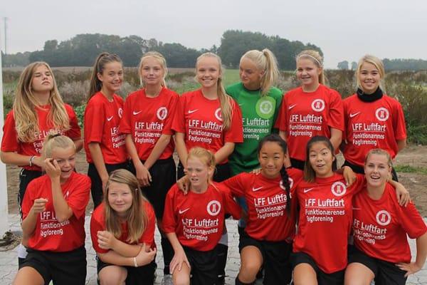 AB Tårnbys U15-piger klar til Øst-rækken - Fodbold for piger