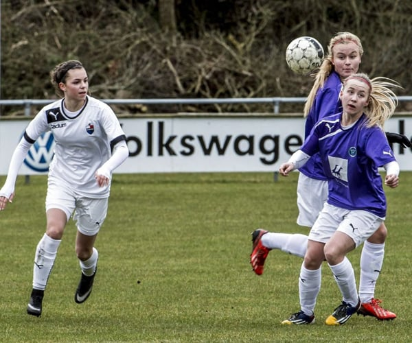 Team Viborg var længe om at få jul scoringer i Næsby. Foto: Team Viborg