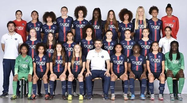 De franske U19-mestre.