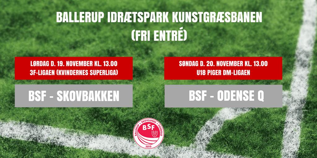 Oplev 3F- og U18DM Liga fodbold i Ballerup Idrætpark