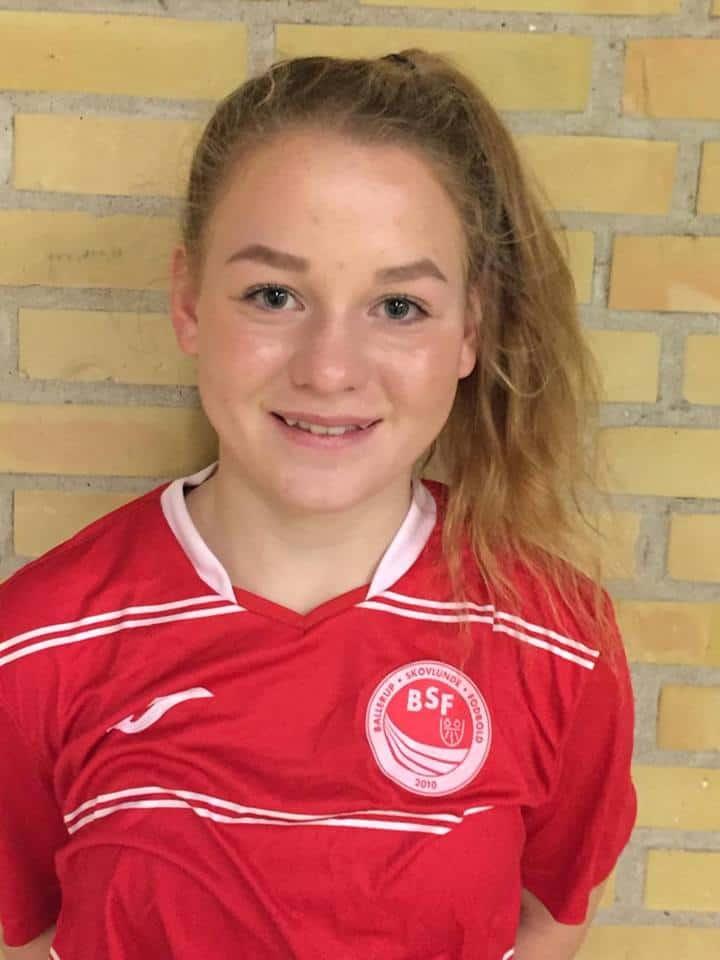 Amalie Wegener Weischendorff er ny i BSF U18DM truppen