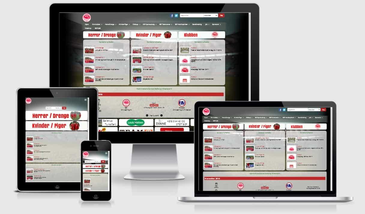 BSF hjemmeside