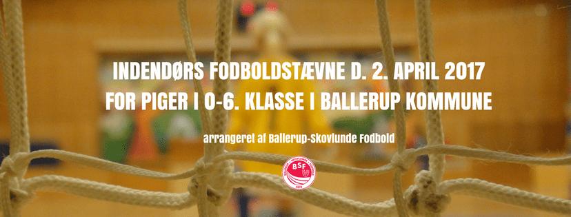BSF Indendørsstævne for 0-6. klasser i Ballerup kommune