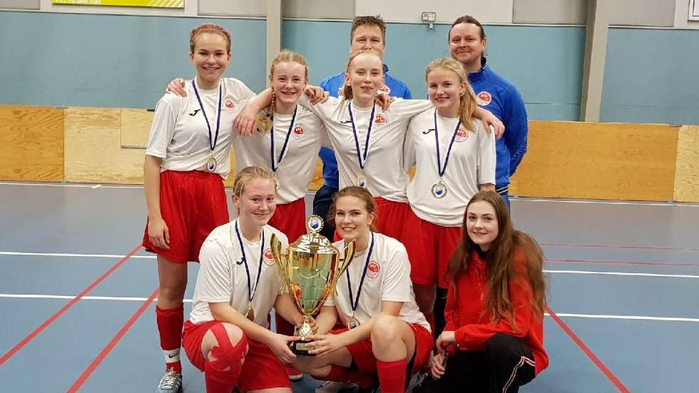 BSF U16 Piger Øst vinder Hvalsø Cup 2018
