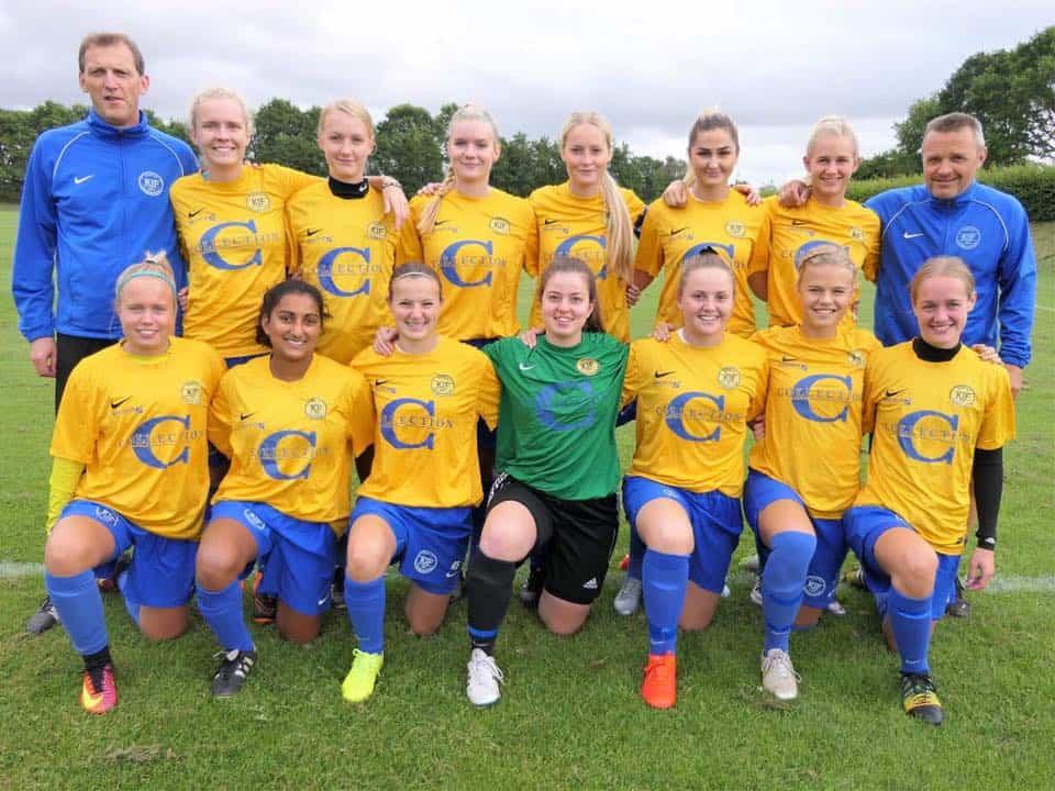 f01de45101e Kjellerup IF's kvinder vil i 1. division - Fodbold for piger