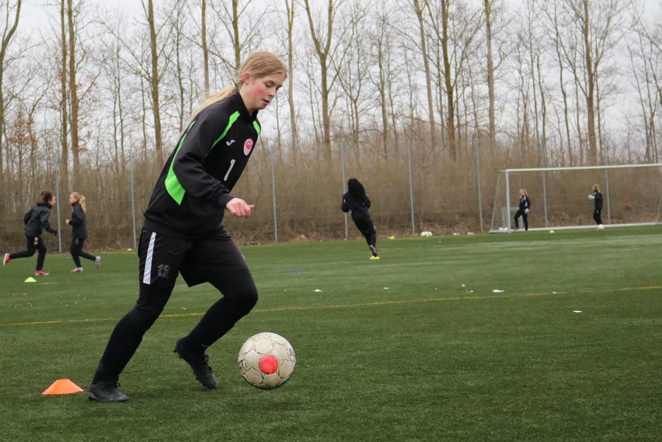 Nanna Skov Knudsen på besøg hos BSF