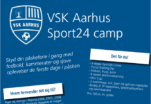 VSK Aarhus Sport24 Camp 2019